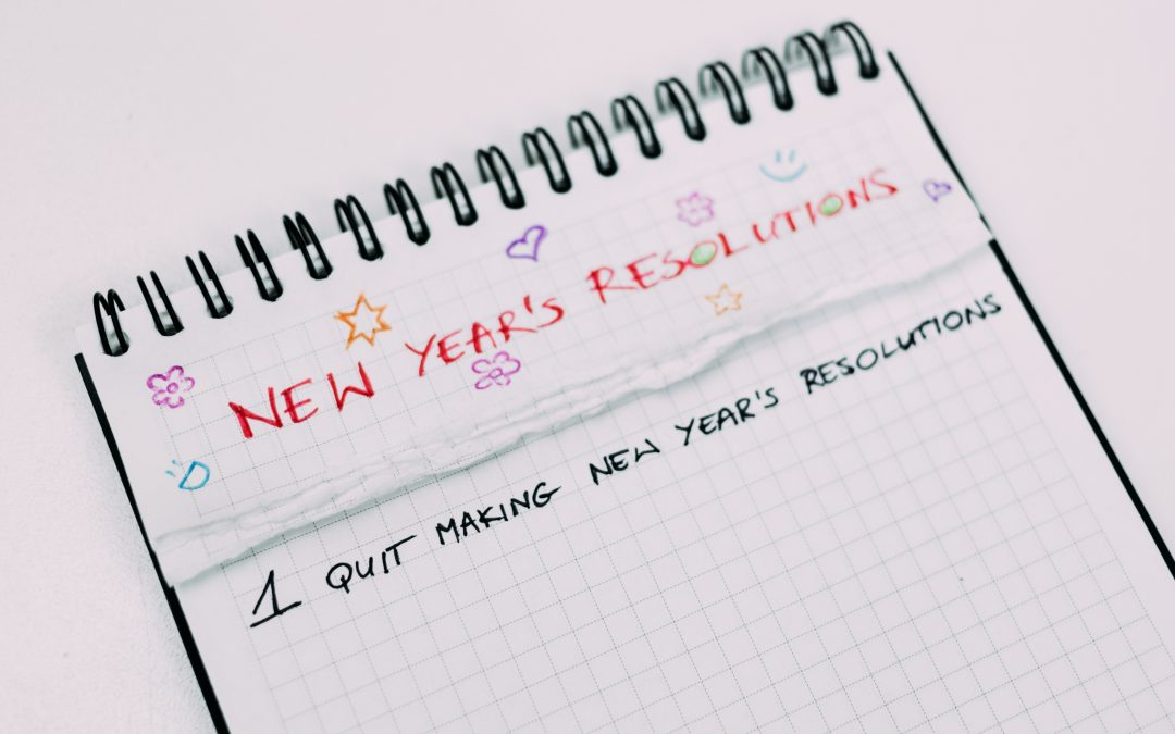 Resolutions or Intentions – what's the difference?